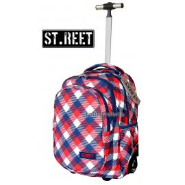 ST.REET PIXELS school backpack Trolley original
