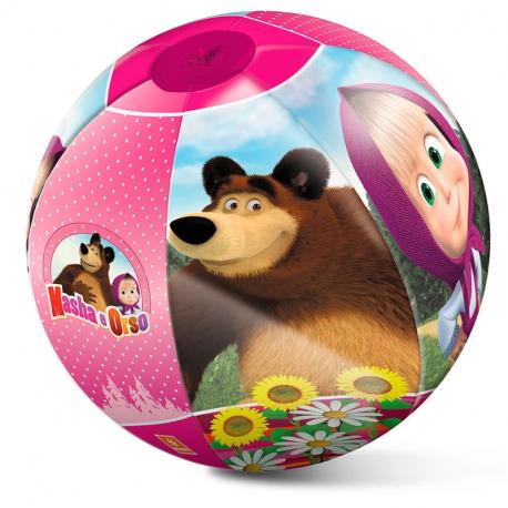Masha e orso palla pallone gonfiabile gioco spiaggia mare for Gioco di piscine