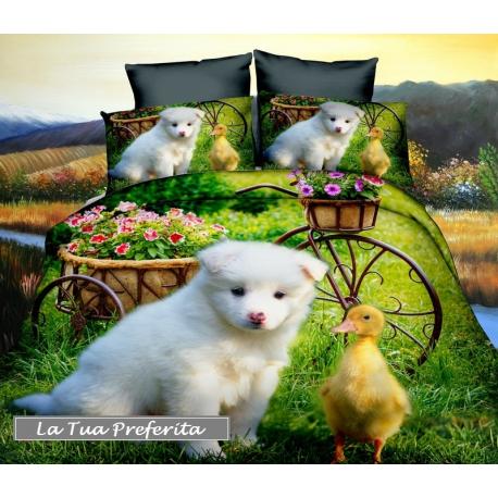 Set lenzuola 3d letto singolo copripiumino 160x200cm cotton world bambini ragazzi - Lenzuola per bambini letto singolo ...