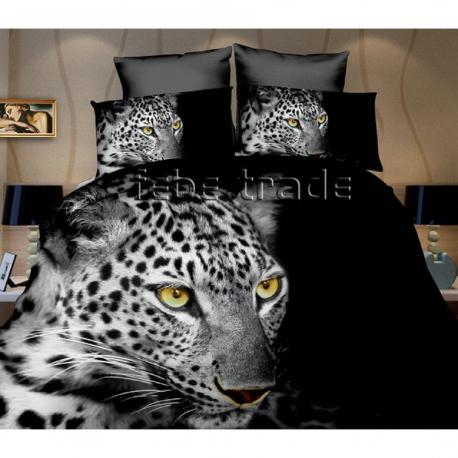 Leopardo set lenzuola 3d letto singolo copripiumino 160x200cm in scatola cotton world bambini - Lenzuola per bambini letto singolo ...