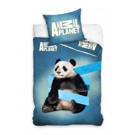 Panada Animal Planet Set lenzuola, Copripiumino 160x200 letto singolo 100% cotone Biancheria da letto