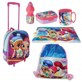 Shimmer & Shine Trolley backpack schoolbag
