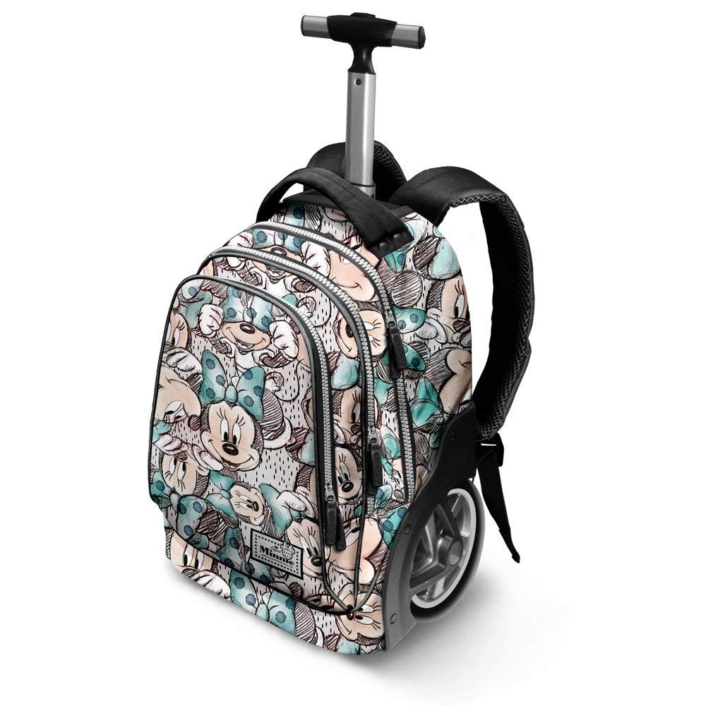 370210a812 Minnie Disney school backpack Trolley - LaTuaPreferita - T.B.Technology