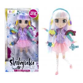 Shibajuku Girls 33 cm Suki doll with headphones