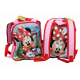 Minnie Mouse Selfie Disney Backpack Backpack in 3D set School asylum 6pezzi