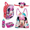 Minnie Mouse Disney 3D with Mask Set 5 pieces Schoolbag Backpack 3D school kindergarten