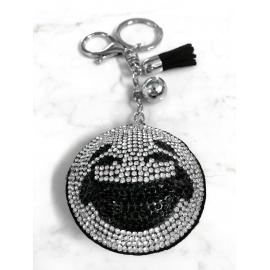 Smile 3D Keychain, Soft Pendant Women's Backpack Bag