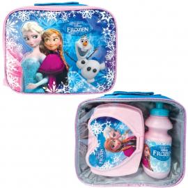 Disney Frozen Elsa & Anna valigia Trolley Travel + borsa termica ,bagalio a mano
