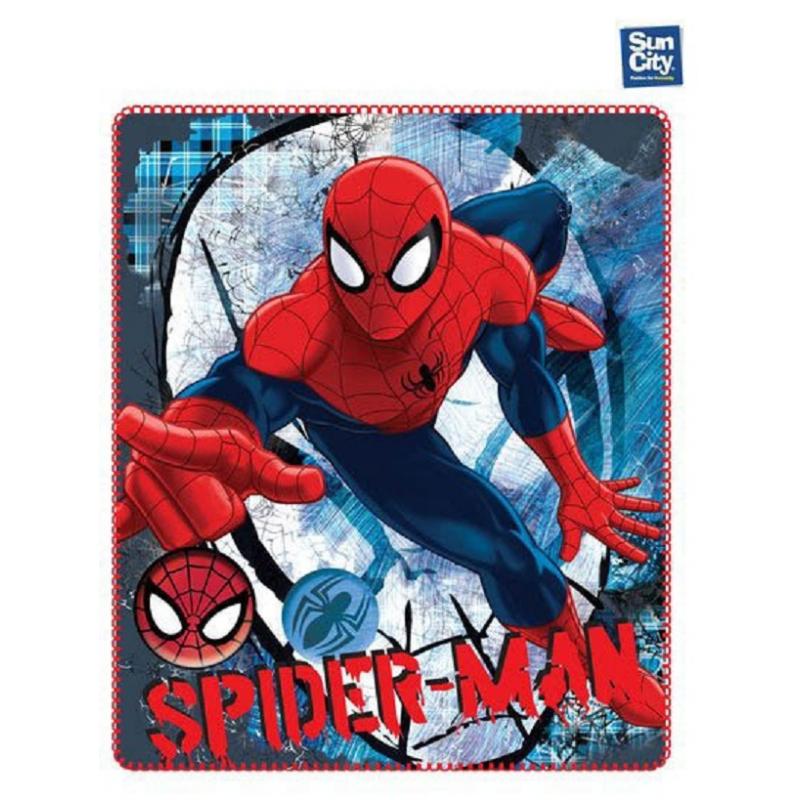 sports shoes 83a39 fbc8e Coperta copertina in Pile Plaid Spiderman Marvel originale 140 x 120cm -  LaTuaPreferita - T.B.Technology