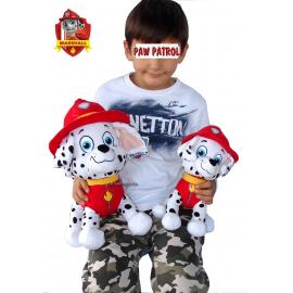 Paw Patrol grande Peluche Rubble pupazzo morbido bambini da 0 anni