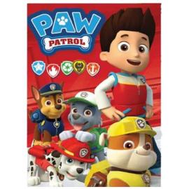 Coperta copertina in Pile Plaid Paw Patrol originale 150 x 100cm