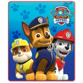 Coperta copertina in Pile Plaid Paw Patrol originale 150 x 100cm