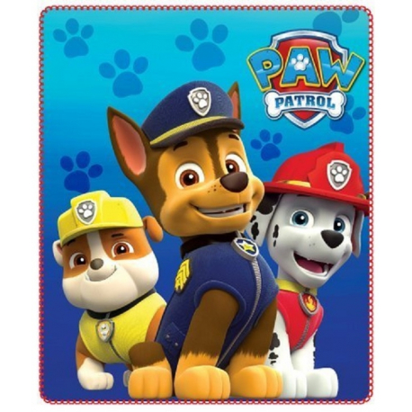 Fleece Blanket Plaid Paw Patrol orginal 150 x 100cm
