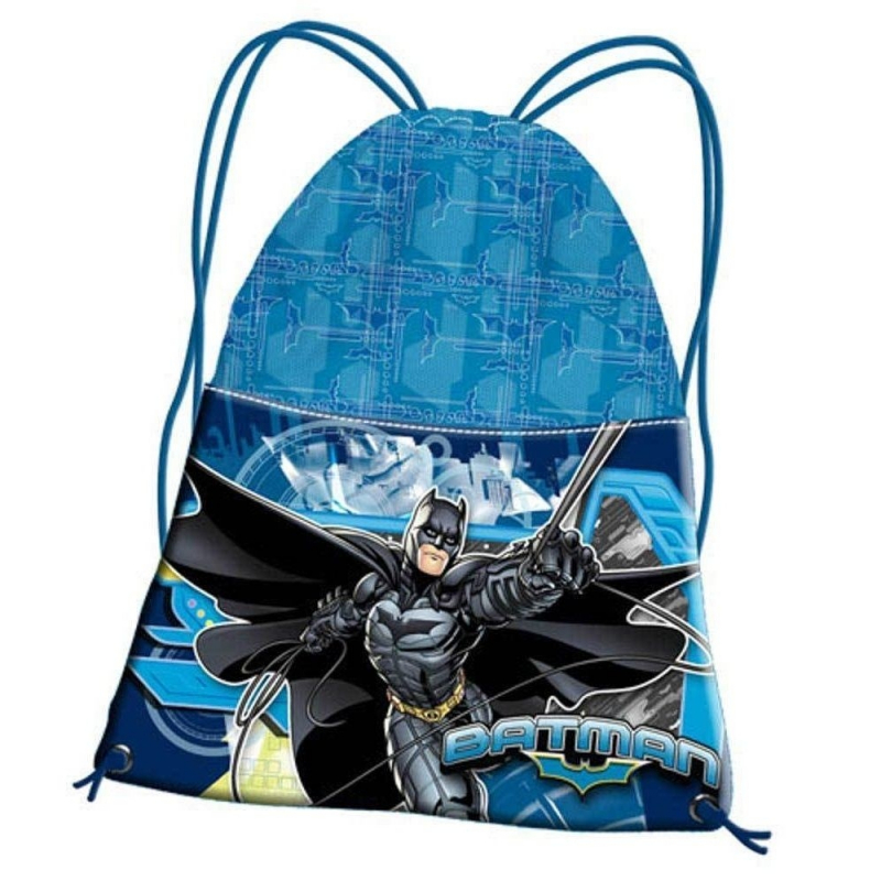rivenditore di vendita 53ff9 07152 zaino zainetto Batman GOTHAM Borsa sacco sport scuola tempo libero Disney -  LaTuaPreferita - T.B.Technology