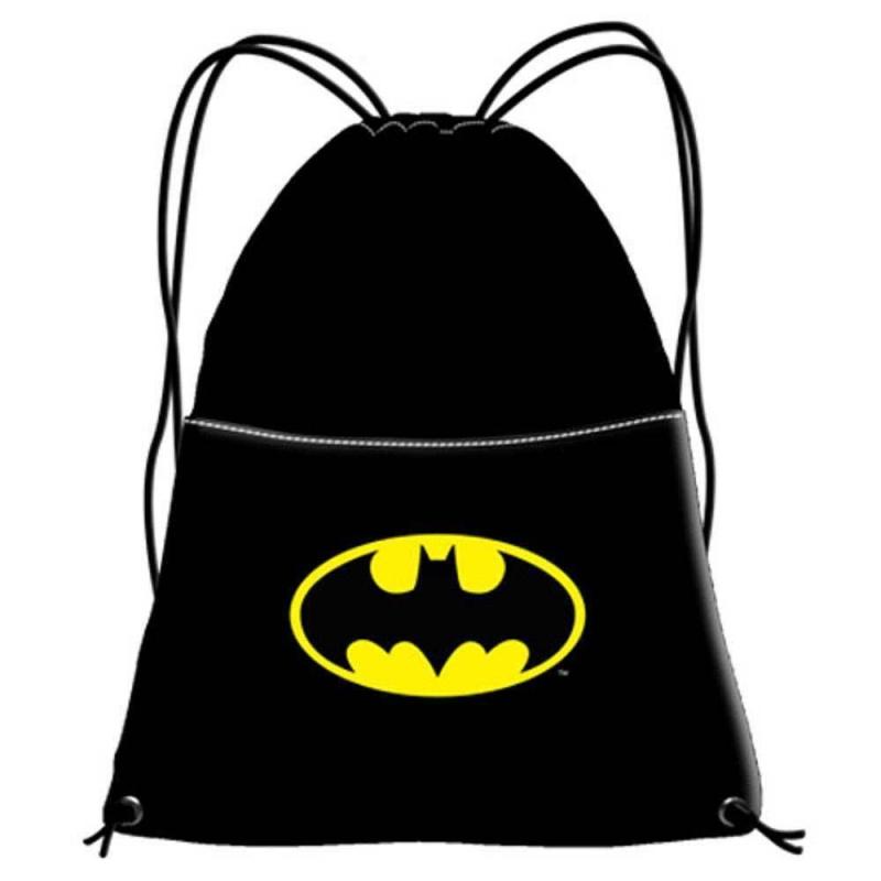 economico per lo sconto 375ce b1806 zaino zainetto Batman BATSIGNAL Borsa sacco sport scuola tempo libero  Disney - LaTuaPreferita - T.B.Technology