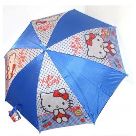 Hello Kitty rosso Ombrello bimbo bambina parapioggia automatico,originale