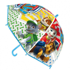 Paw Patrol Skye Umbrella Original baby girl Transparent rain cover