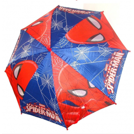 Spiderman Blue Umbrella baby girl automatic rain cover, original