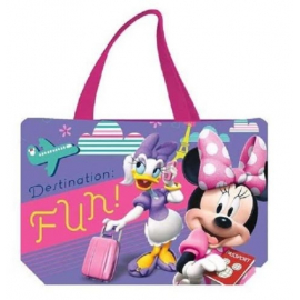 BAG BEACH BAG 48x32cm Minnie BEACH HOLIDAYS LEISURE GIRL sports