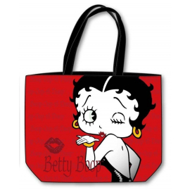 SEA BAG BETTY BOOP BAG 52x40cm BEACH HOLIDAYS sports, games, blue GIRL