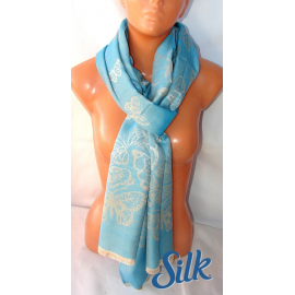 SCARF SCARF collection for men, women, Silk Plain