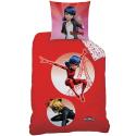 Ladybug Miraculous set of sheets single bed DUVET COVER 140x200cm