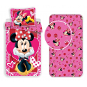 Minnie Heart set 3pcs of sheets single bed DUVET COVER