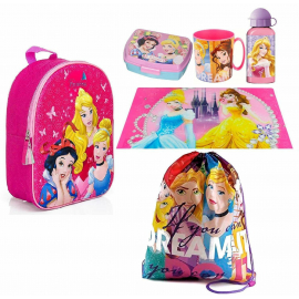 Minnie Mouse Selfie Disney Backpack Backpack in 3D set School asylum 6pezzi