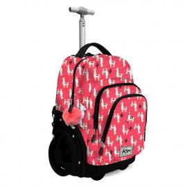 Oh My Pop! Cuzco Blade Trolley Backpack 35L Elementary School Media Girl Child