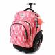 Oh My Pop ! Cuzco Lama set Zaino Trolley 35L Sacca Sport Astuccio Scuola Ragazza
