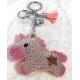 Unicorn 3D Keychain, Soft Pendant Women's Backpack Bag