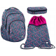 SET school backpack Sweet Kitty Cat Pink original Paso