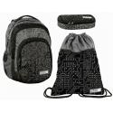 Circuit Set Backpack + Case + Sports Bag, Medium School, High School Boy