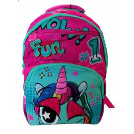 Mate Child Girl Unicorno Zaino TROLLEY Scuola Elementare Ragazza Bambina