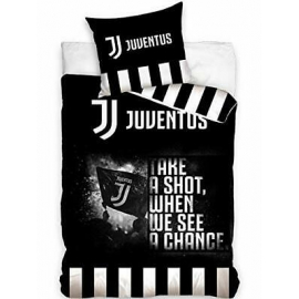 Juventus Pennellato 3 Pieces Set Single Bed Duvet Cover, Pillowcase, Bed Linen Corners