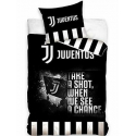 Juventus Black 2 Pieces Set Single Bed Duvet Cover, Pillowcase