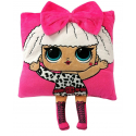 LOL Surprise Pillow with Doll Embroidered Application 30x30cm Rock Pink