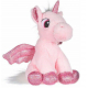 Unicorn Plush with 20cm Glitter Wings Color White