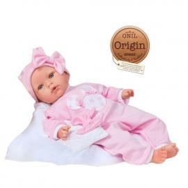 NINES D'ONIL Doll 45 cm Tita Star Mechanized Perfume + Cover + Box