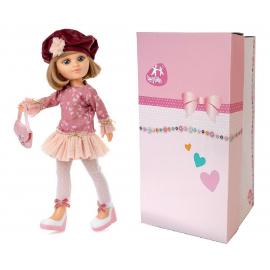 Doris Newborn Doll 45 cm + Soft Body Pacifier Girl