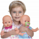 Baby Annabell Crying Real Tears Creative Interactive Newborn Doll 43 cm
