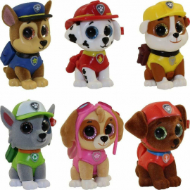 Ty Mini Boos Paw Patrol Collection 6 cm Figurine Figure Team