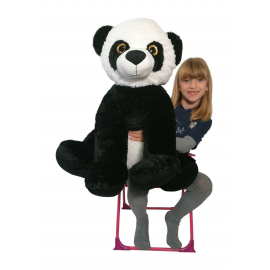 Giant Plush Panda Sitting 65cm Soft Pampering Kids Boys Gift