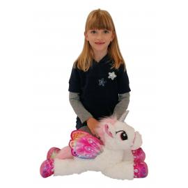 50cm Grande Peluche Unicorno Pony Cavallo Rosa per Bambini Ragazzi Adulti San Valentino