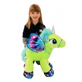 65cm Grande Peluche Unicorno Pony Cavallo Viola per Bambini Ragazzi Adulti San Valentino