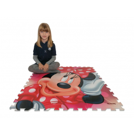 Minnie Mouse Giant Puzzle Carpet Game Children Room floor, swimming pool