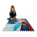 Frozen Dipinto Giant Puzzle Carpet Game Children Room floor, swimming pool