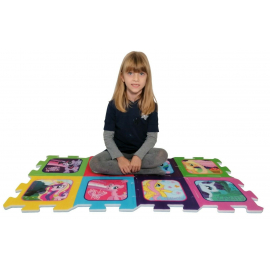 My Lilltle Pony Giant Puzzle Carpet Game Children Room floor, swimming pool