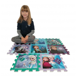 Frozen Giant Puzzle Carpet Game Children Room floor, swimming pool