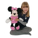 Plush Disney Minnie Classic 50cm Pink Original Girl Girl